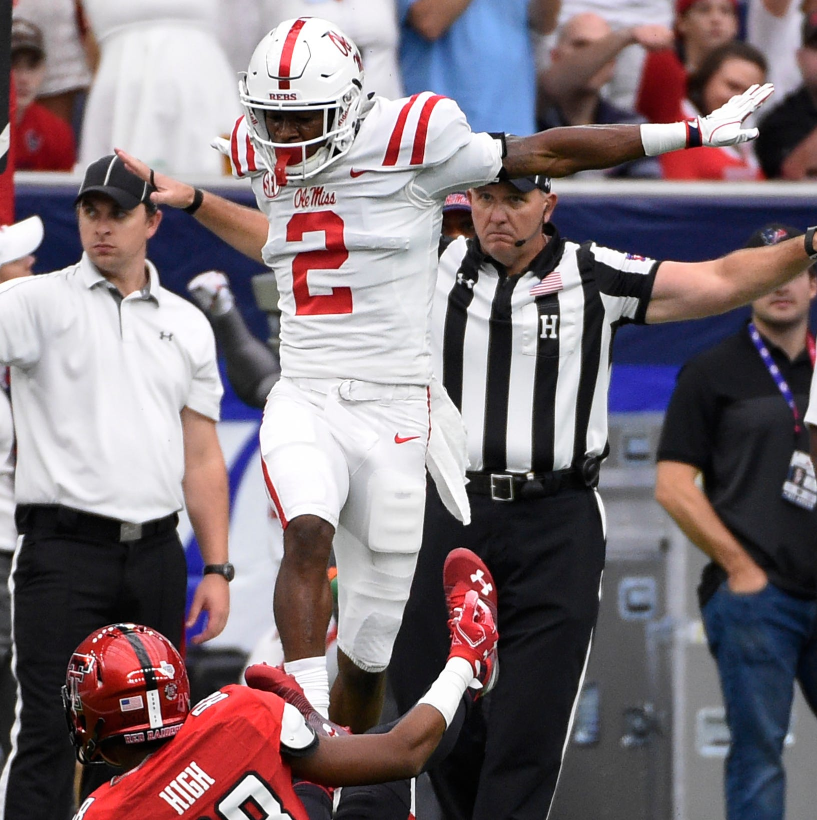Torn ACL sidelines Ole Miss defensive back Montrell Custis for the remainder of the season
