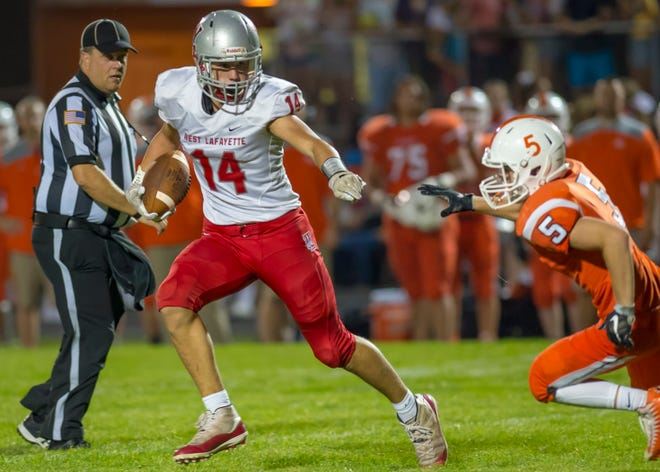 Yanni Karlaftis is one of 15 seniors on West Lafayette's football roster.