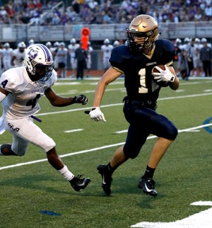 Lancaster junior wide receiver Casey Finck was named first team All-Central District  on Wednesday.