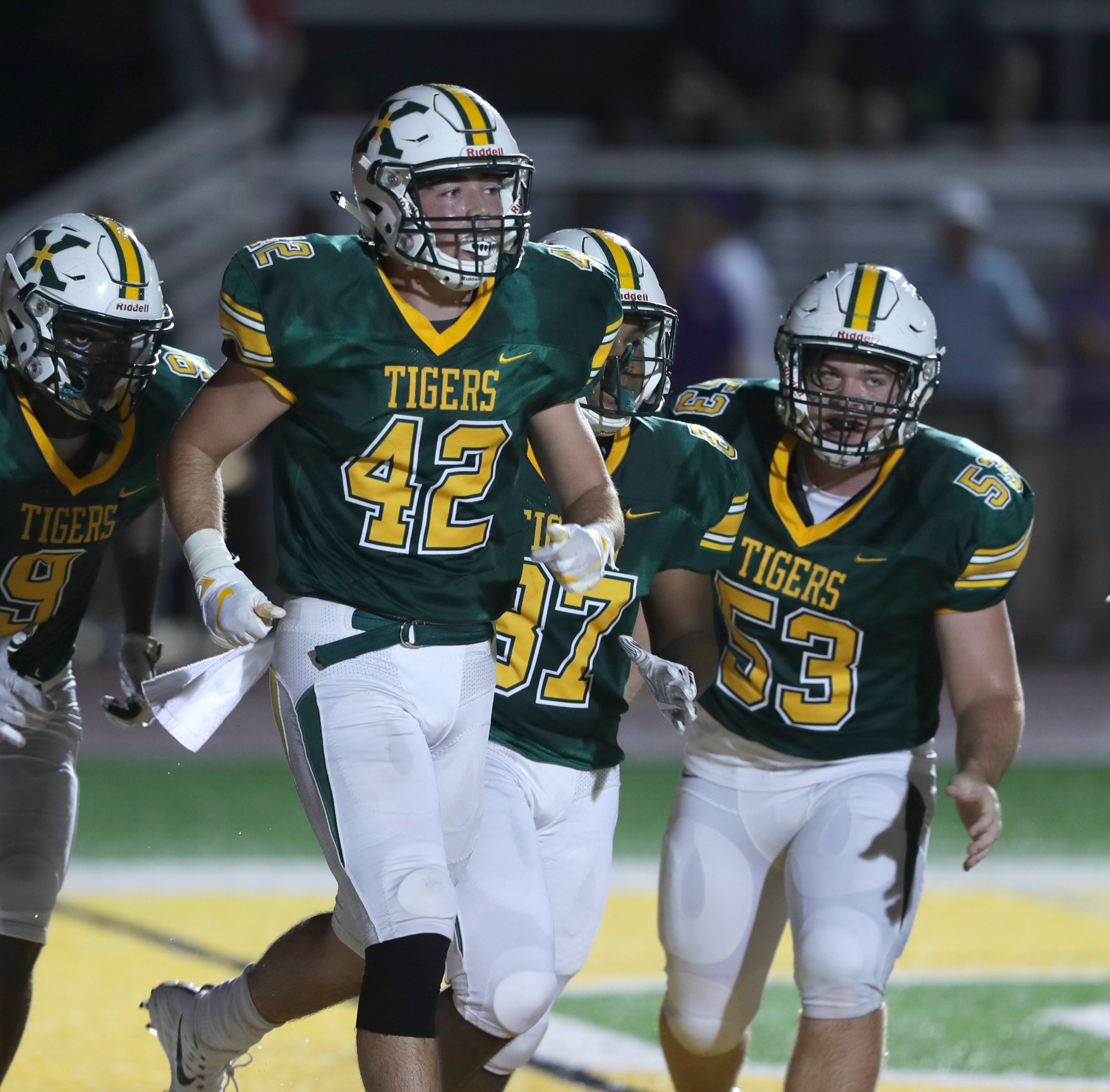 St. Xavier weathers the rain in win over Butler, grabs district title