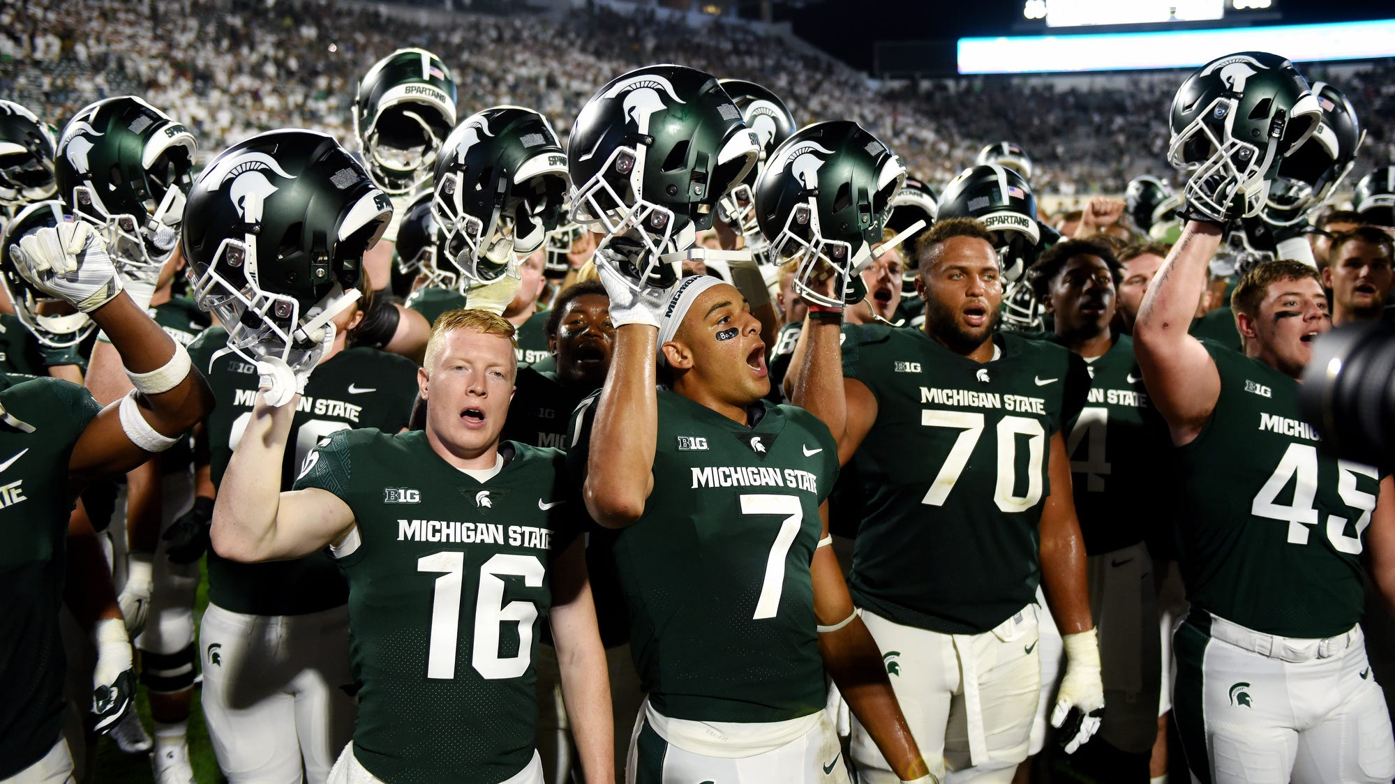 Michigan State Football Schedule 2018 Game Results Recaps