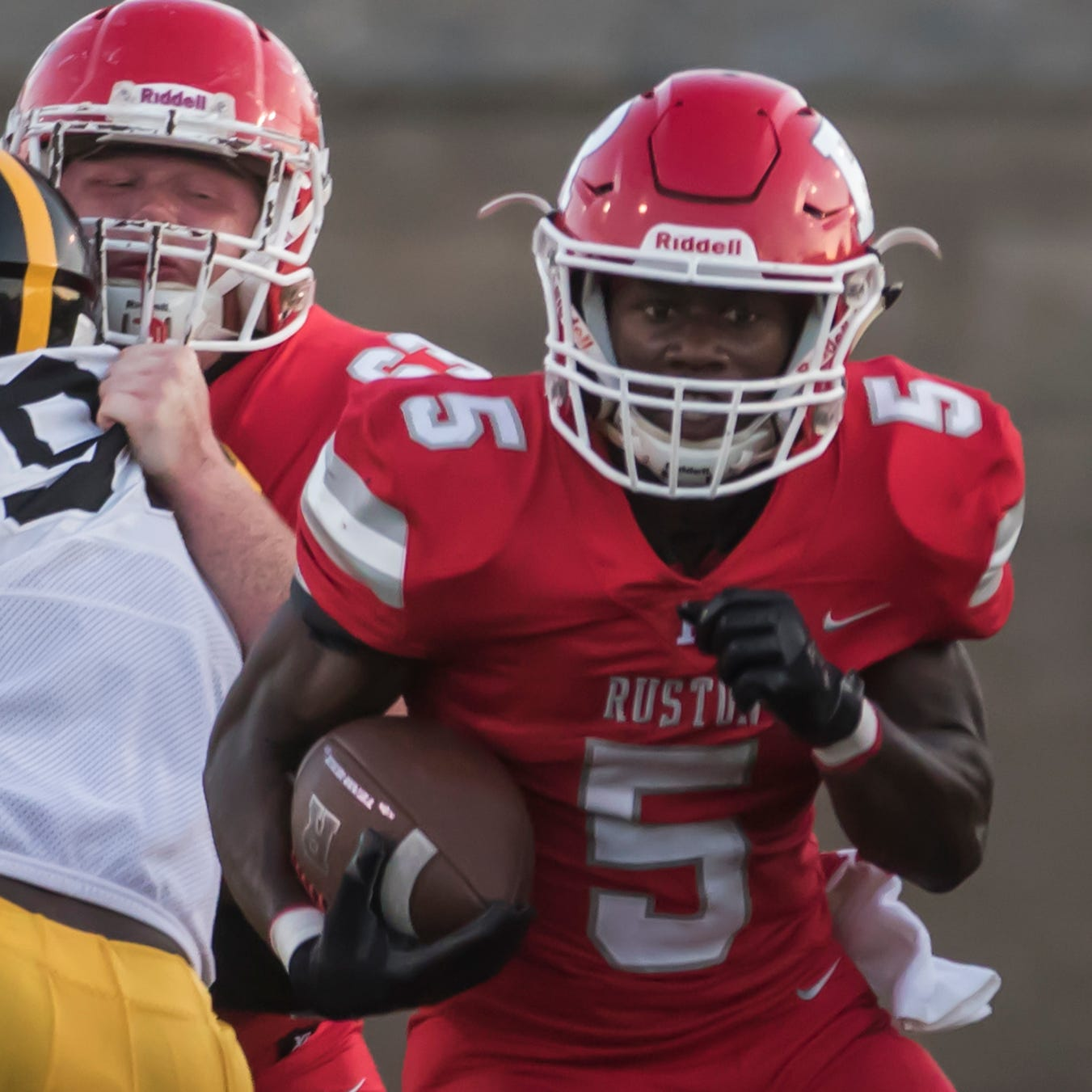 Ruston rides running game to rivalry rout over Neville