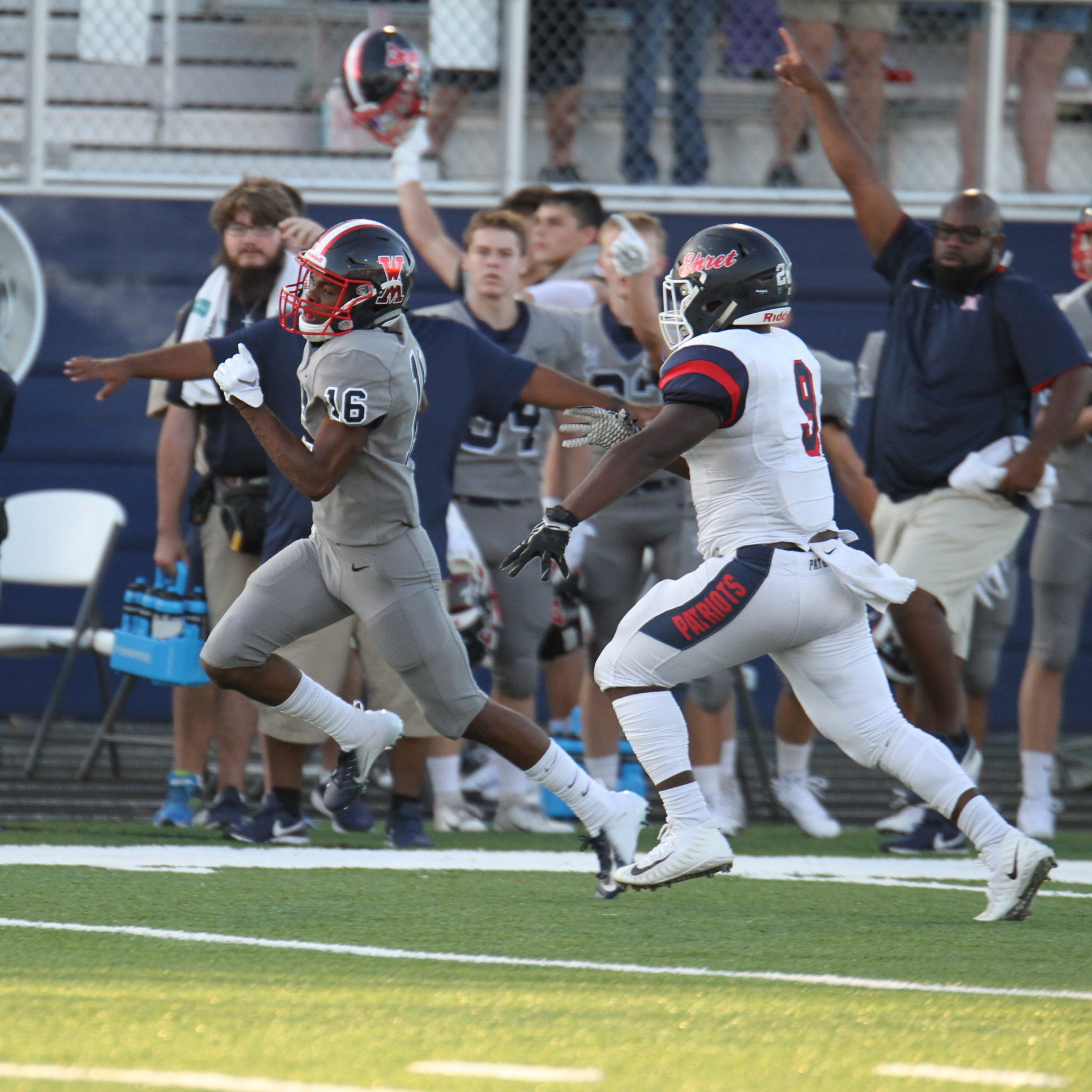 West Monroe cashes in mistakes to down John Ehret in opener