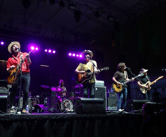 The Wild Feathers perform at Live On The Green Thursday, August 30, 2018.
