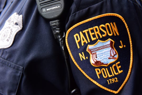 Paterson Police Department badge.