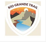 A state commission selected this logo on Wednesday, Aug. 29, 2018 to showcase the Rio Grande Trail, a proposed trail that would stretch the length of New Mexico from south to north.
