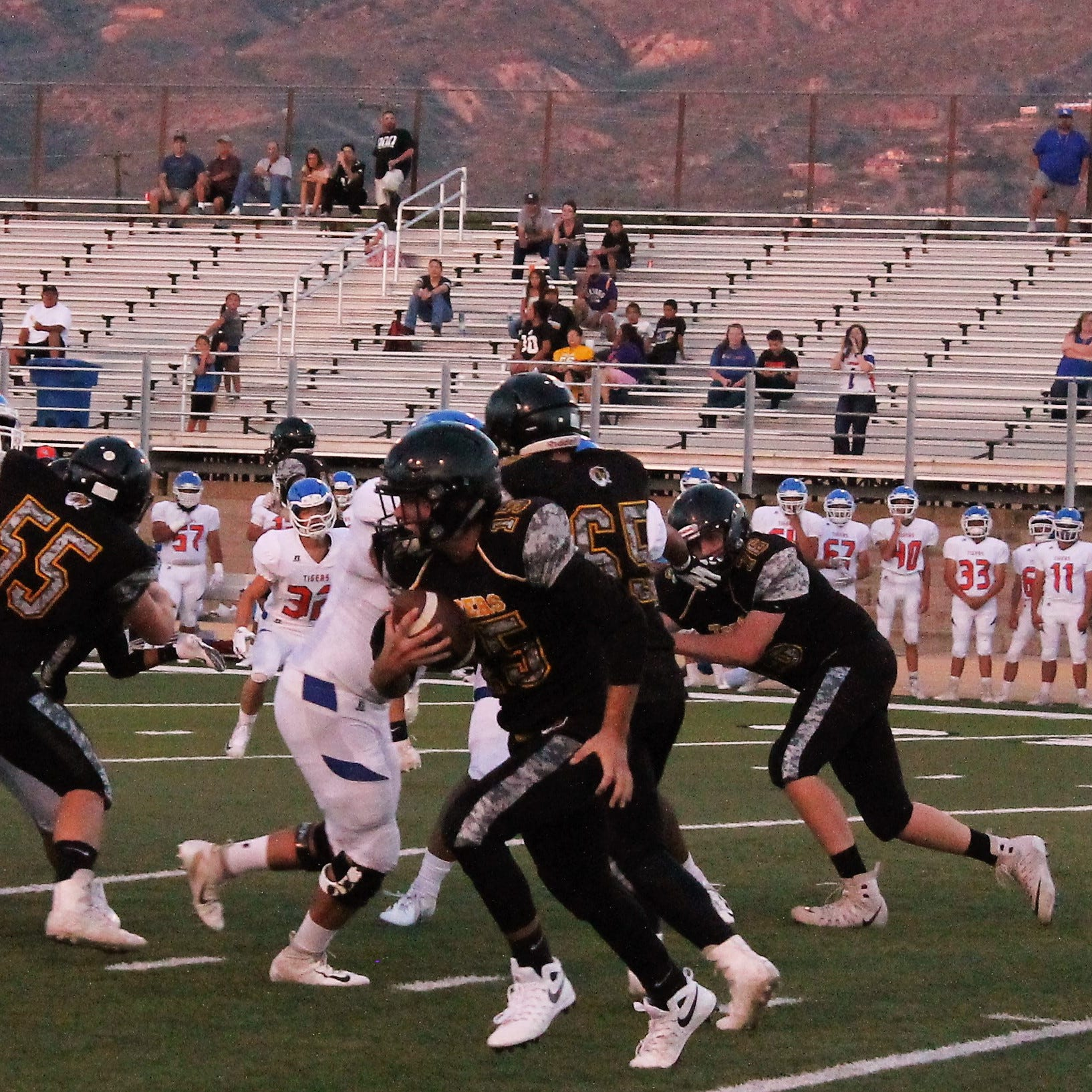 AHS Tigers lose to Los Lunas 12-35 in season's first home game