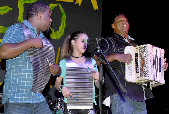 Chubby Carrier and the Bayou Swamp Band, a popular zydeco group