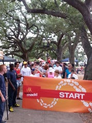 """MADD Northwest Florida is holding its """"Walk Like MADD"""" event Saturday in Fort Walton Beach, moving from its previous Pensacola location to allow for a bigger crowd."""