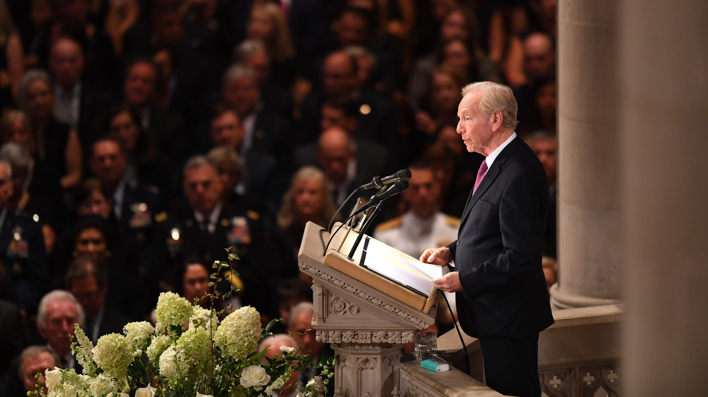 Read the full text of Joe Lieberman's eulogy for John McCain