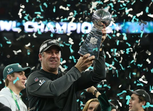 Nfl Super Bowl Lii Philadelphia Eagles Vs New England Patriots