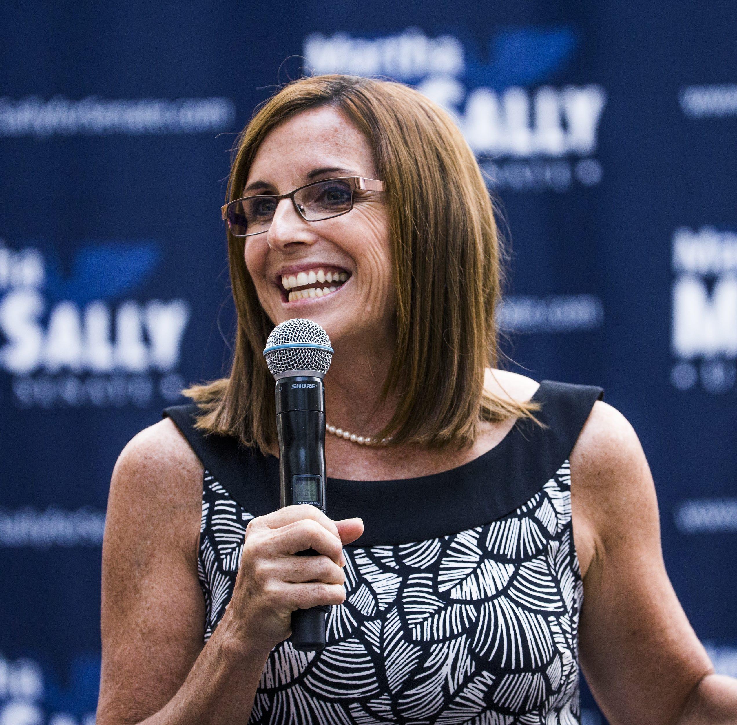 Will Martha McSally win a spot in the Senate even if she loses?