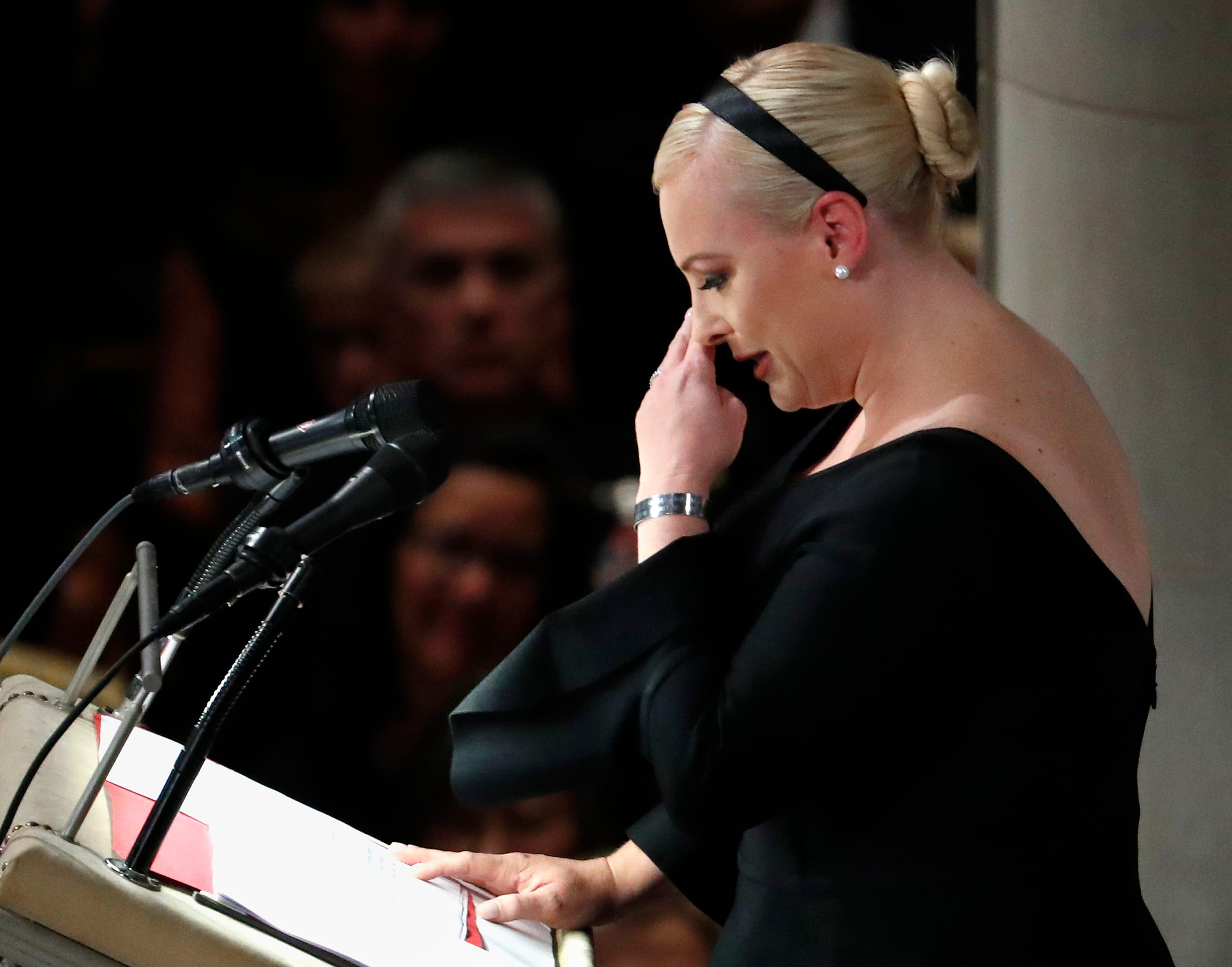 Grieving Meghan McCain: Death of father John McCain is 'an amputation' | AZ Central