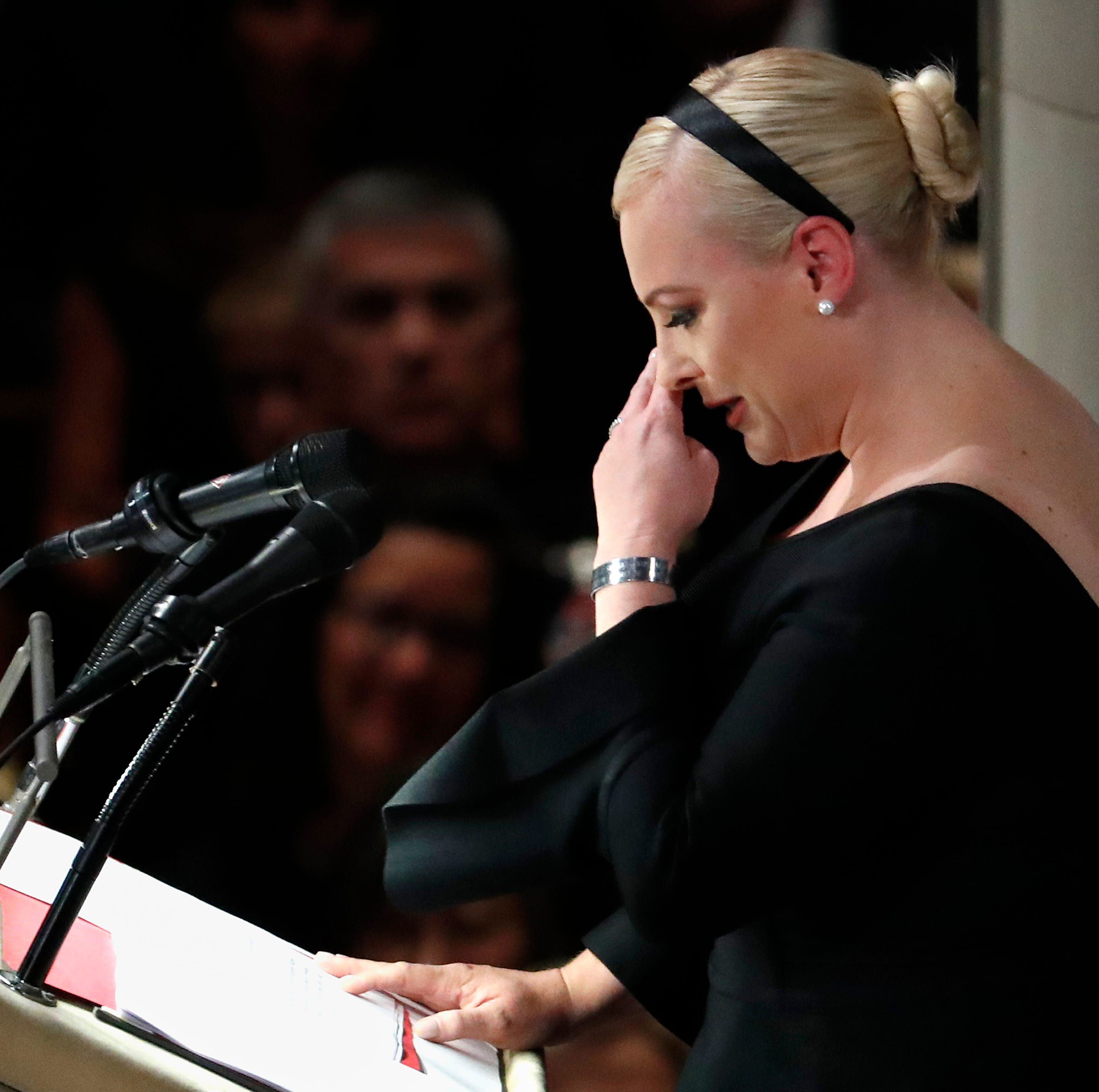 Grieving Meghan McCain: Death of father John McCain is 'an amputation'