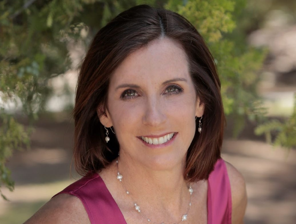 Republican Martha McSally in the Republican nominee  for the Senate seat Jeff Flake is vacating.
