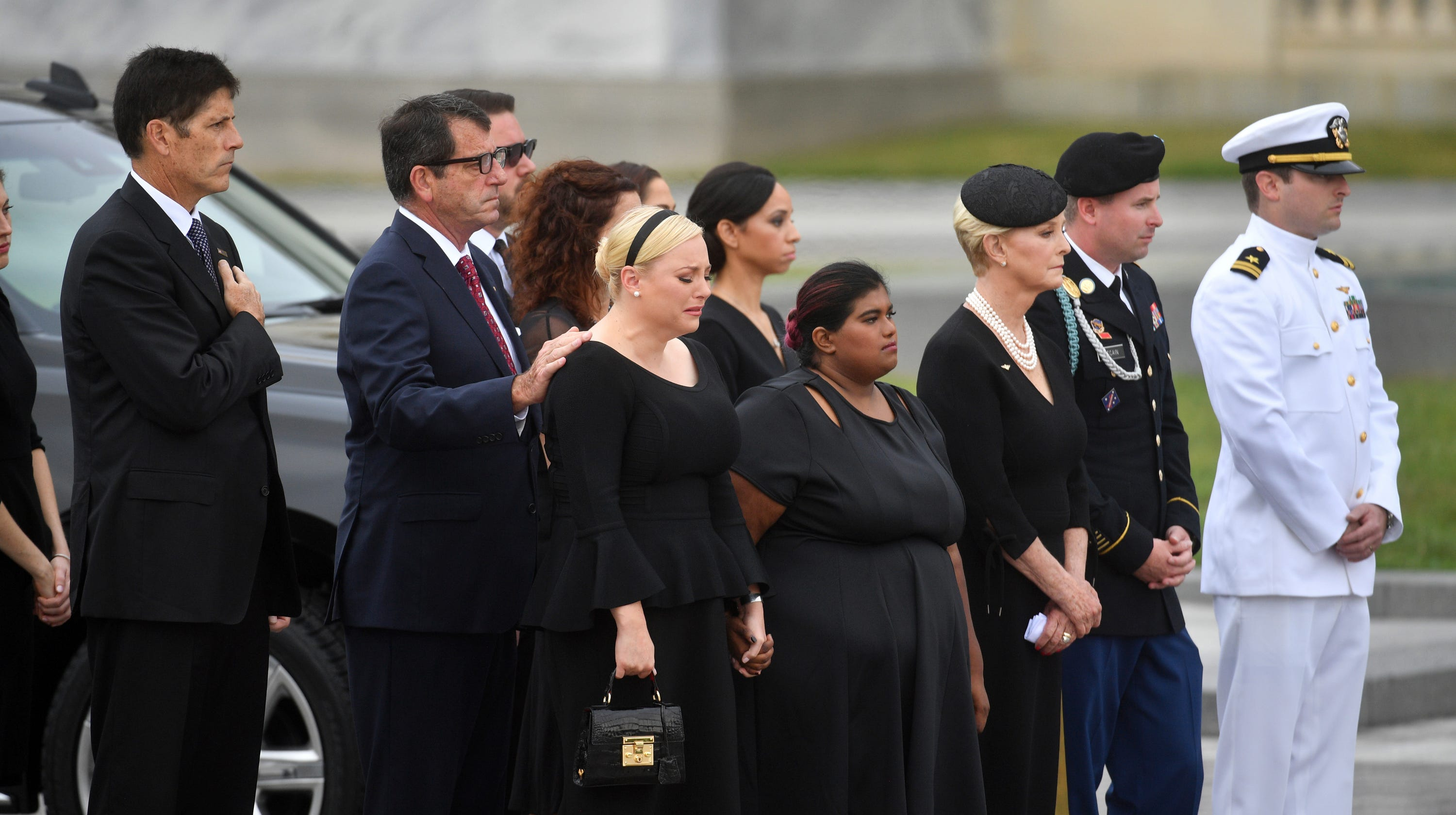 Cindy McCain tweet after John McCain funeral: 'Together we
