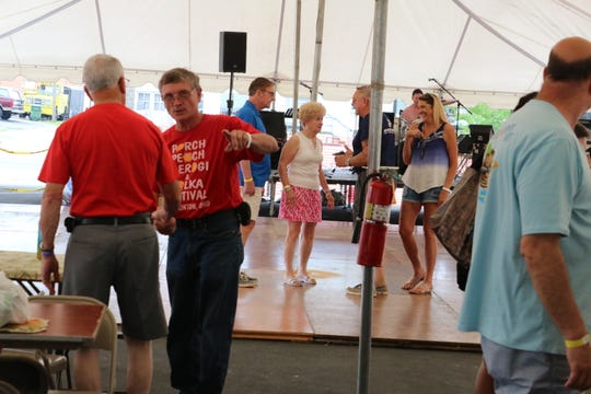 Good food and great music came together for the 14th annual Perch, Peach, Pierogi and Polka Festival in Port Clinton on Saturday.