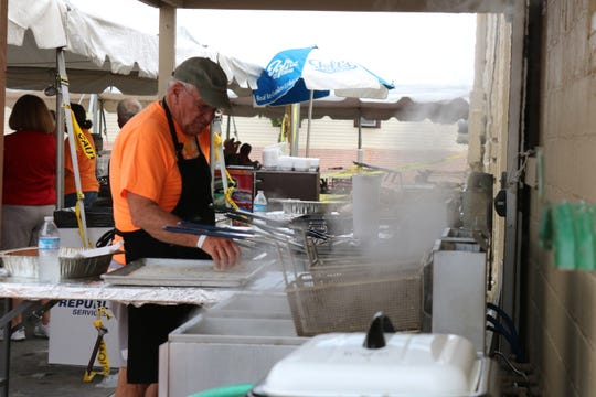 There was plenty of fresh fish right out of Lake Erie to go around the 14th annual Perch, Peach, Pierogi and Polka Festival in Port Clinton on Saturday.