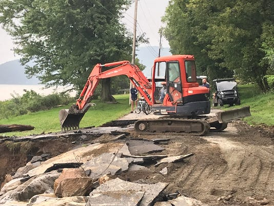 Flood damage cleanup Sept. 1 in Hellam Twp