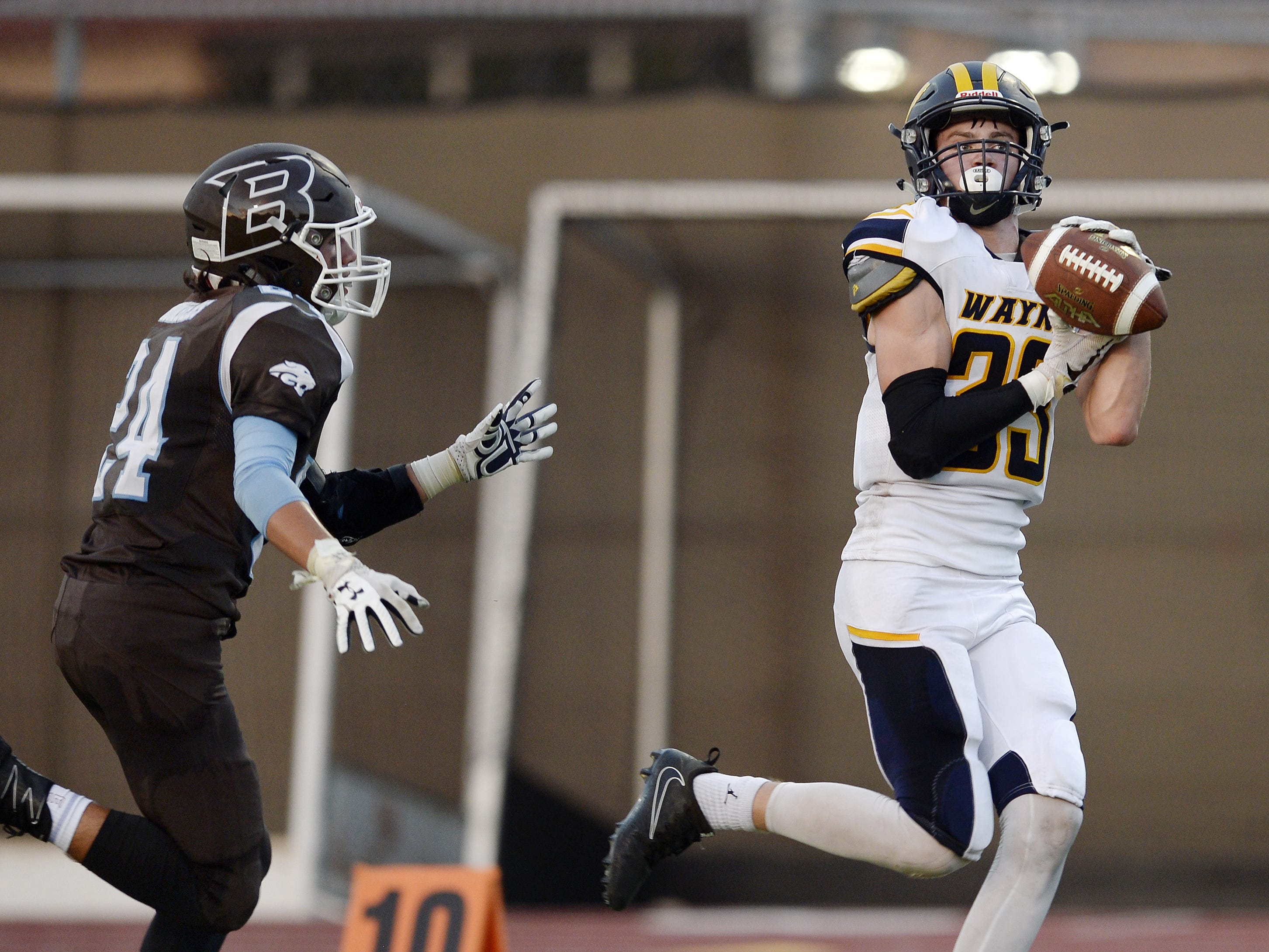 Who were the top performers in Section V football in Week 1?
