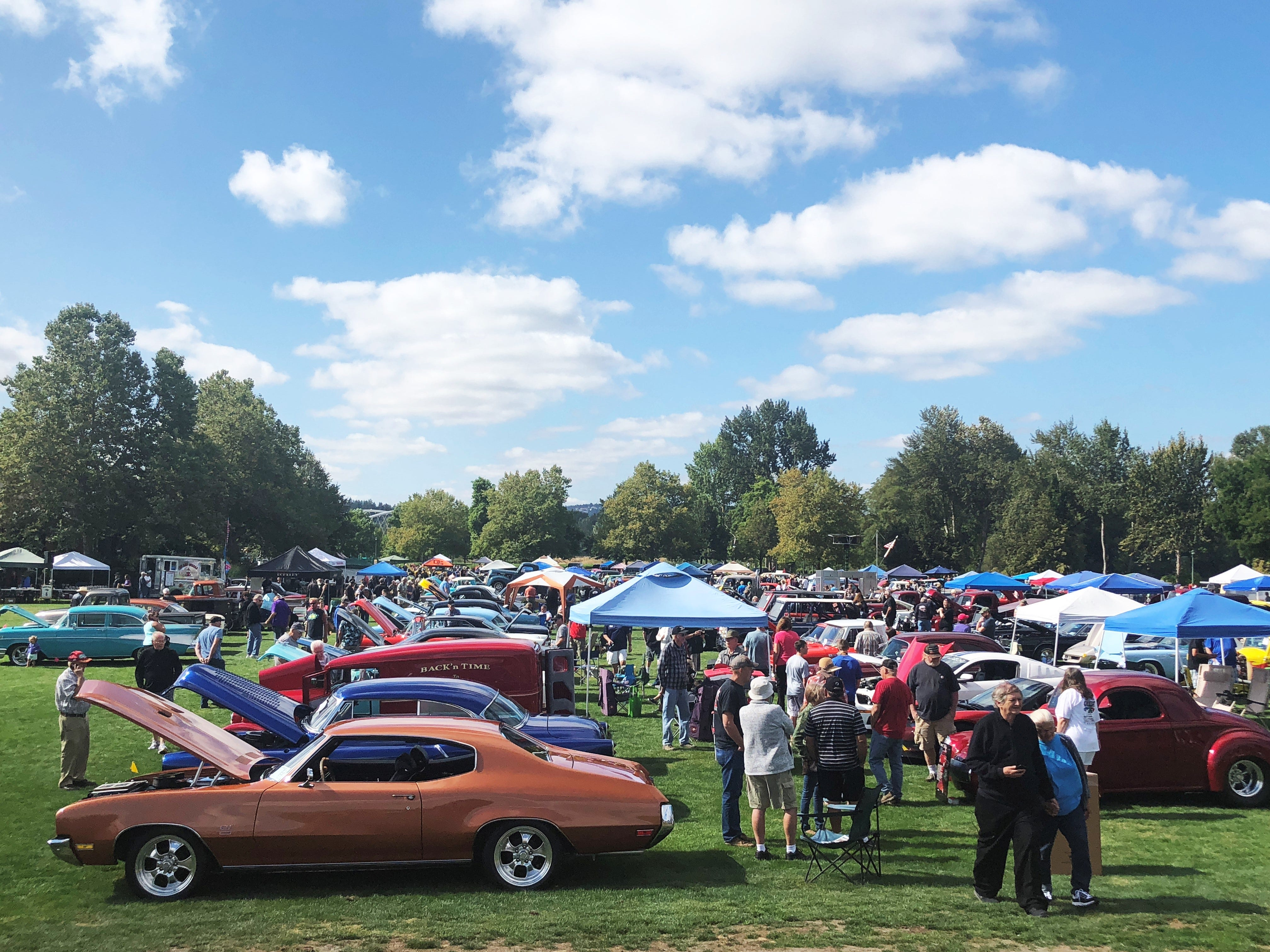 Spectators got to see more than 300 cars at the 27th Annual Carousel Cruise at Riverfront Park in Salem on Saturday, Sept. 1.
