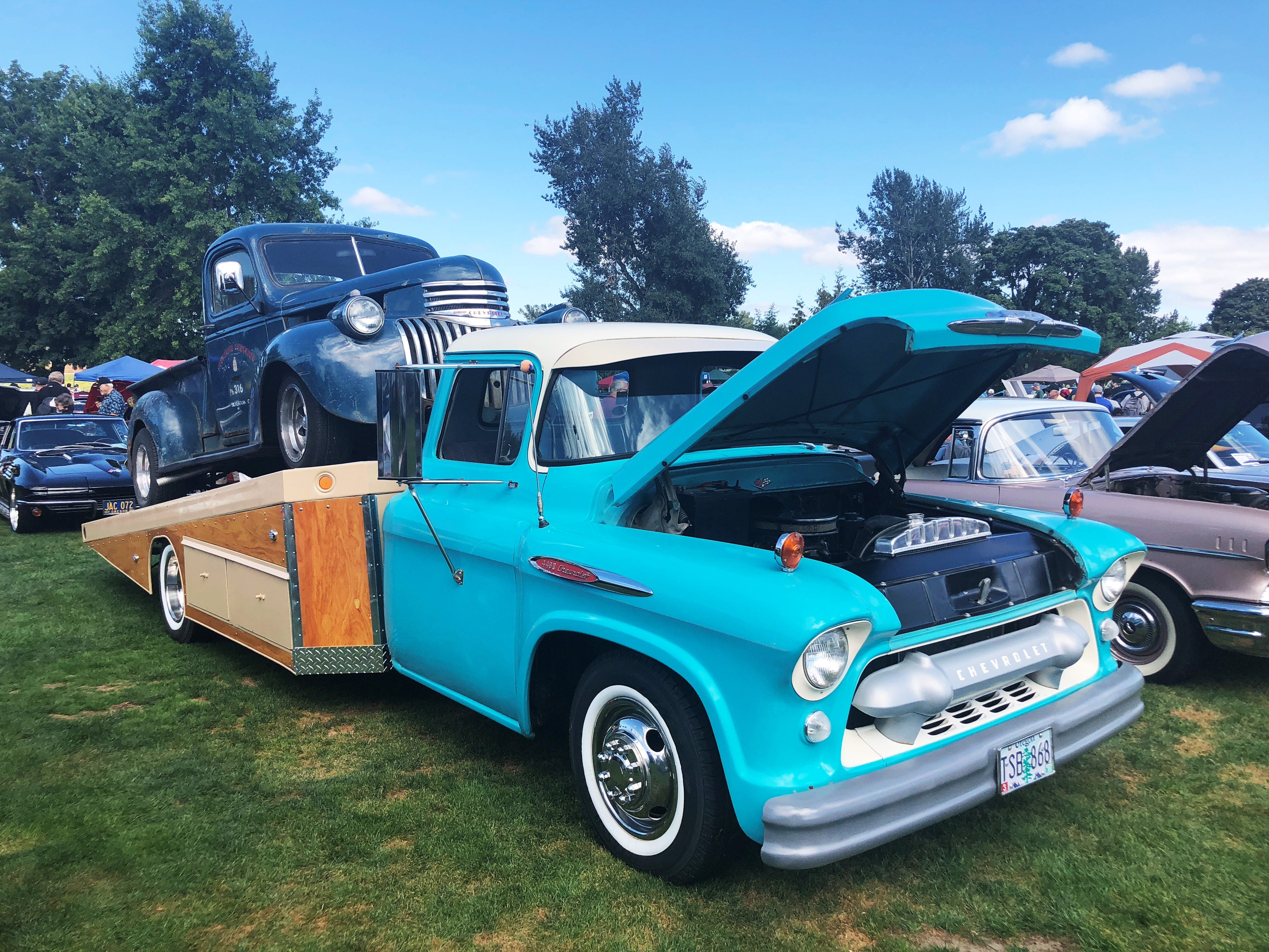 A 1957 Chevy Truck at the 27th Annual Carousel Cruise at Riverfront Park in Salem on Saturday, Sept. 1.