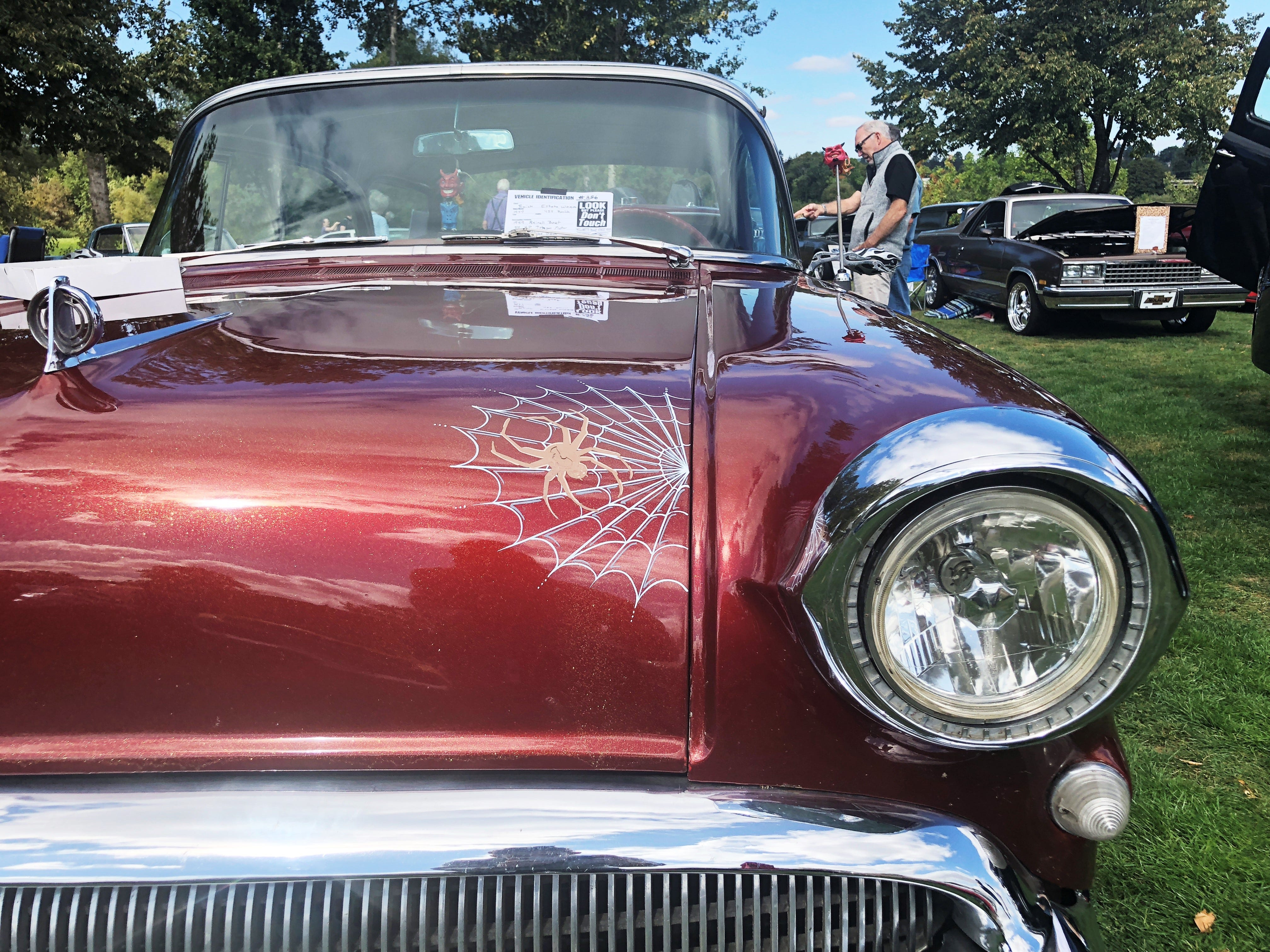 An up close shot of a 1957 Buick Estate Wagon at the 27th Annual Carousel Cruise at Riverfront Park in Salem on Saturday, Sept. 1.