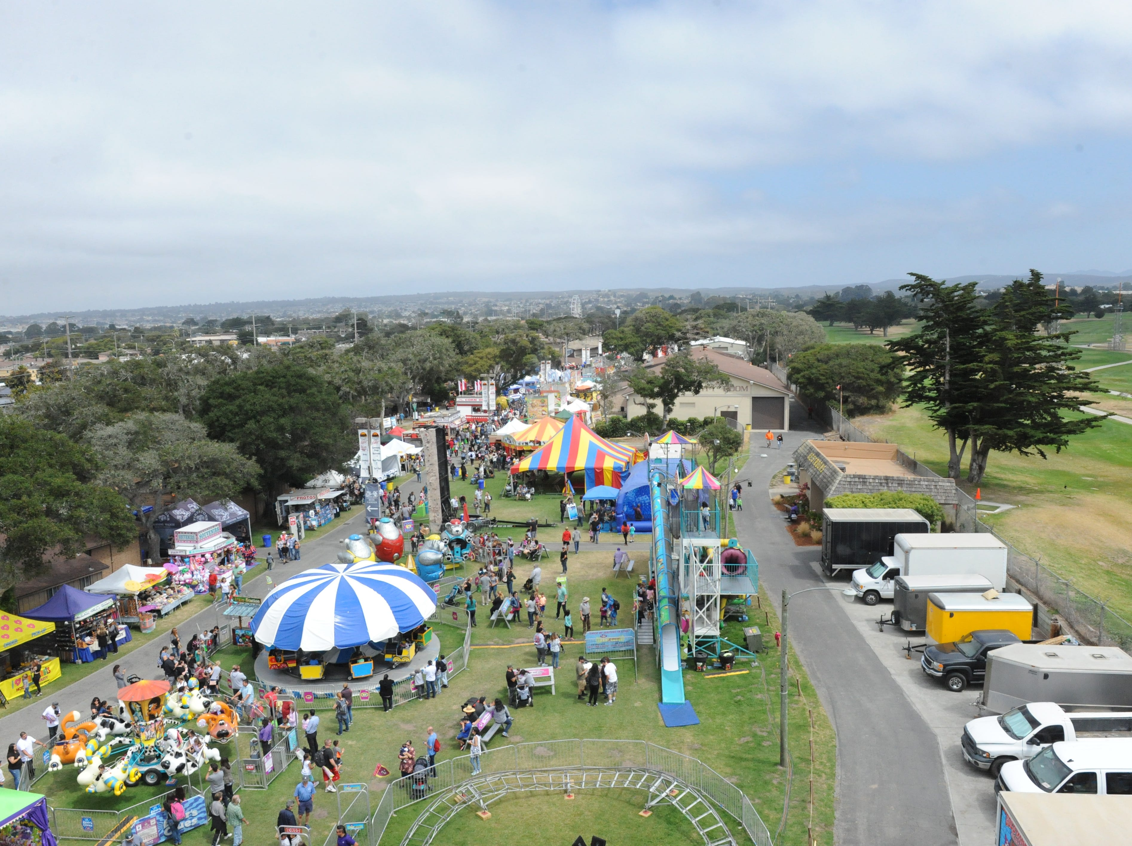 """Thousands attended Saturday's """"Lucky California Day"""" at the Monterey County Fair."""