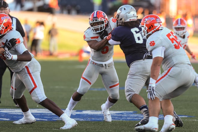 The San Angelo Central High School defense made a strong opening statement in last week's 19-7 win against Killeen Shoemaker. The Bobcats (1-0) travel to Del Rio (0-1) on Friday.