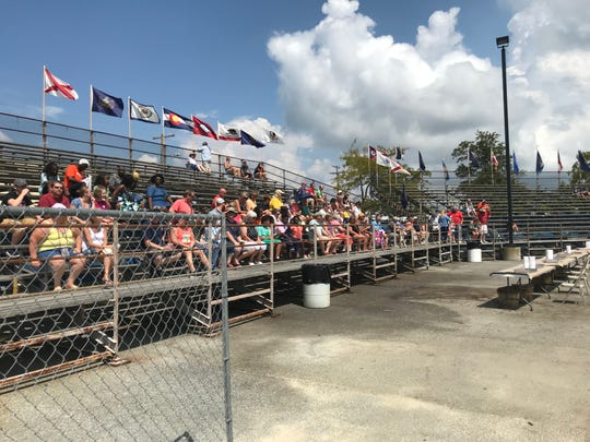 Attendees wait for the crab picking competition during the 71st Annual National Hard Crab Derby on Saturday, Sept. 1 at Somers Cove Marina in Crisfield.