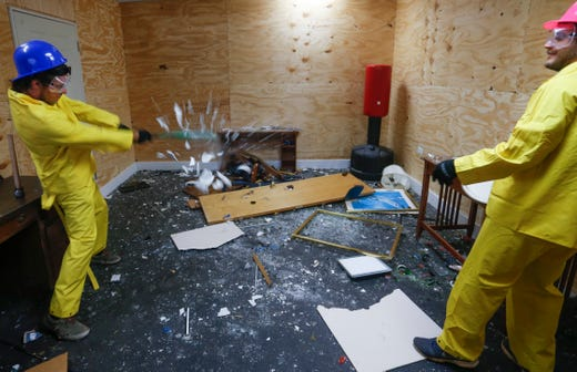 New Business The Rage Room In Springfield Makes Breaking Things Fun