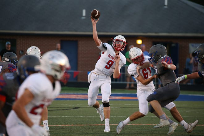 Scenes from Hillcrest's 32-27 win over Glendale on Aug. 31 at Hillcrest High School.