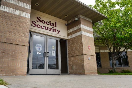 The Social Security office at 3800 Veterans Drive shown Friday, Aug. 31, in St. Cloud.