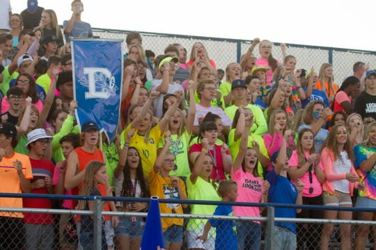 Dixie High football takes on Tooele High Friday, Aug. 31, 2018.