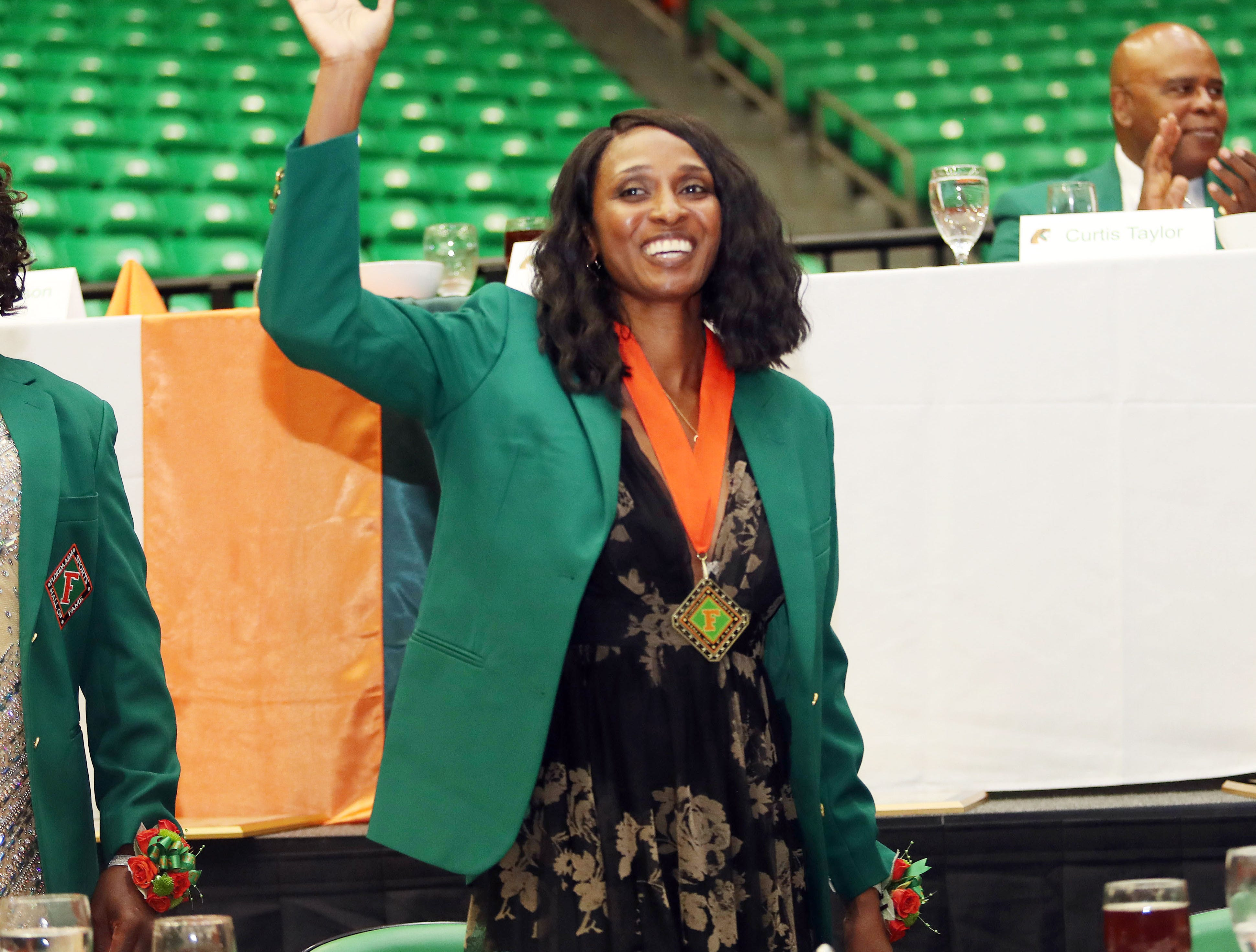 Janell Staton ruled the softball diamond as a pitcher and shortstop in the mid 1990s. She is now immortalized in the FAMU Sports Hall of Fame.