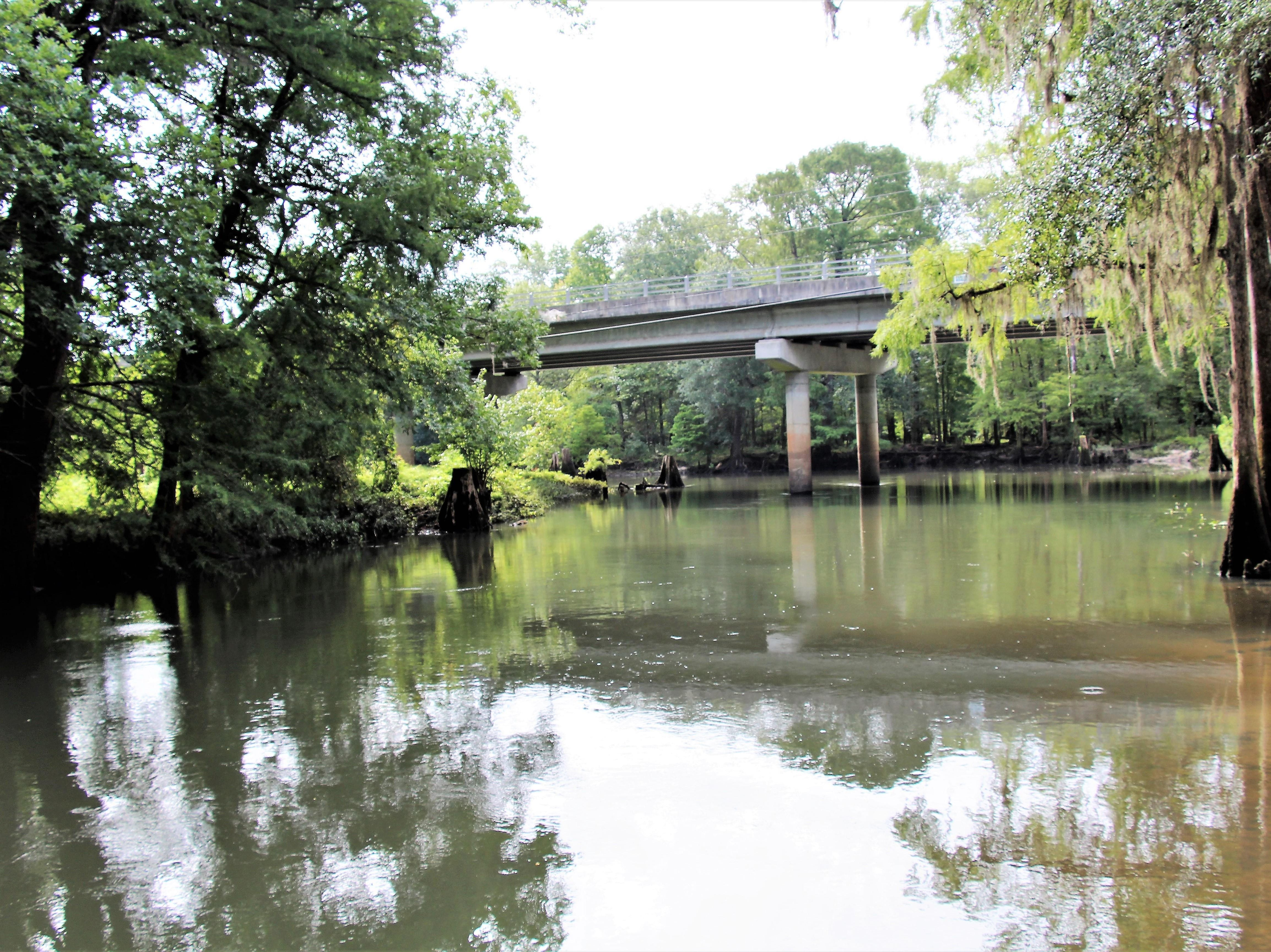 Yancey Bridge over the Chipola River in Marianna