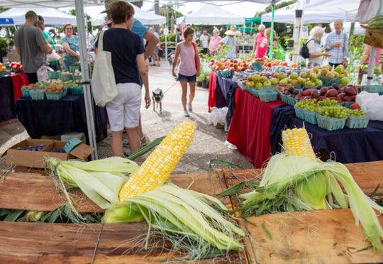 The Farmers Market OceanSide of Vero Beach is held on Saturdays from 8 a.m. to noon. In the winter, the market is held in a nearby parking lot, but local businesses want to keep that lot open for their customers. The City Council is considering moving the farmer's market to Humiston Park and the surrounding sidewalk permanently.