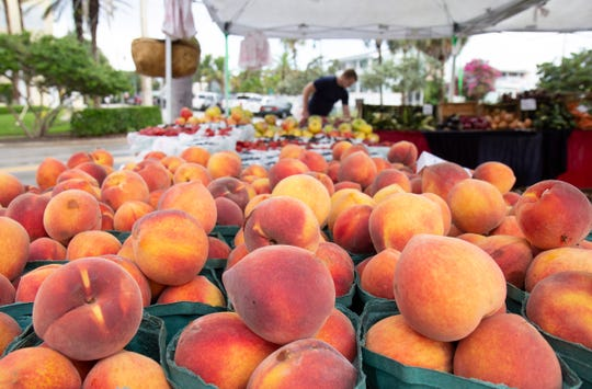 The Farmers Market OceanSide of Vero Beach is held on Saturdays from 8 a.m. to noon.