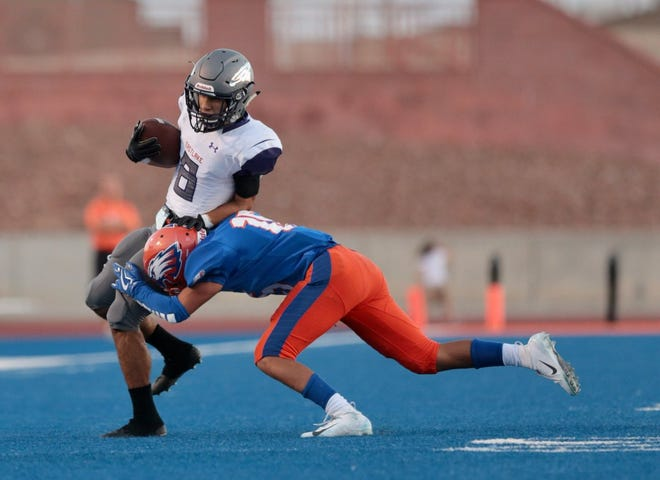 Eastlake and Canutillo went scoreless in the first quarter.