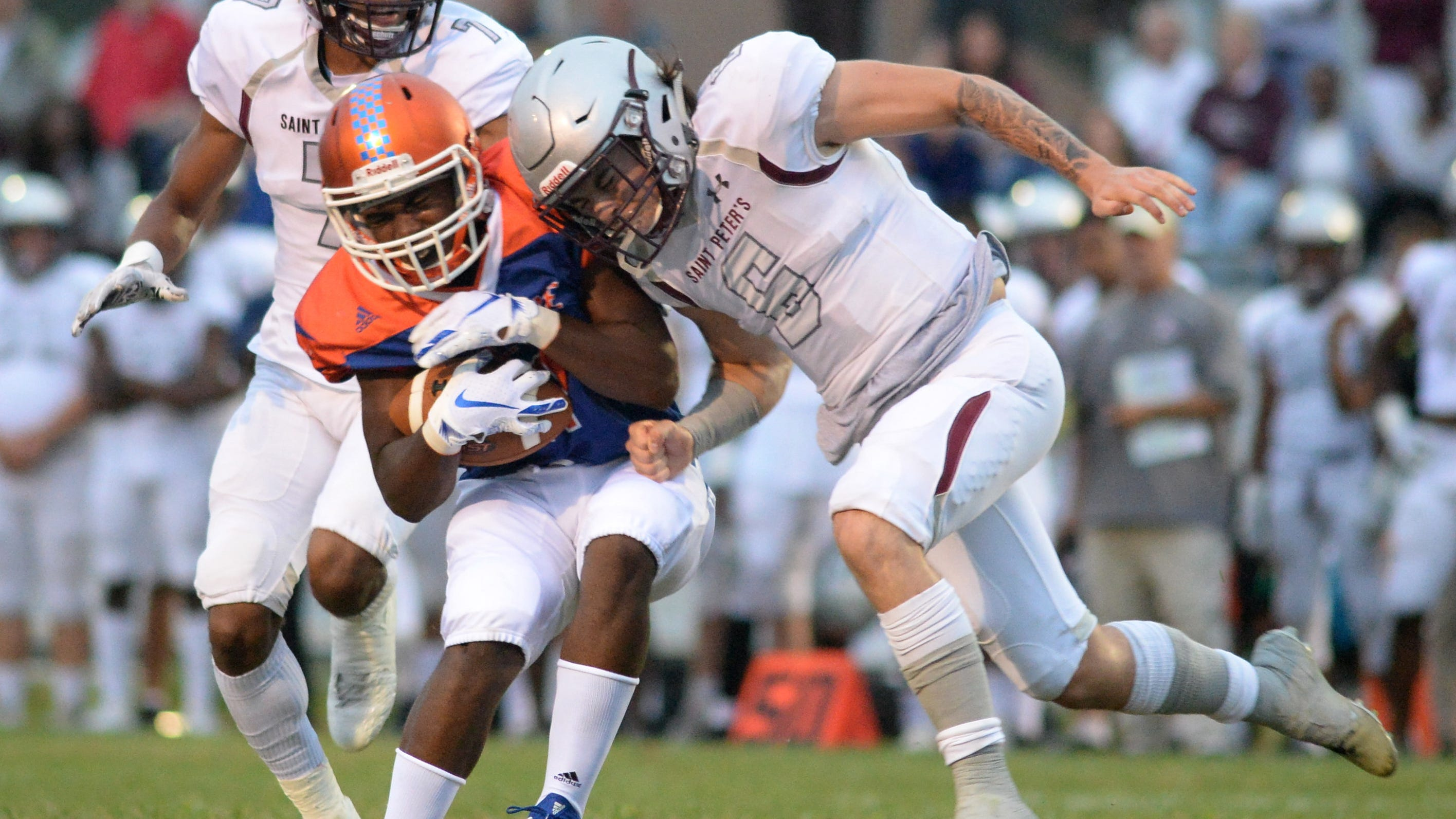 Football Millville Fades In Loss To State Power St Peter S Prep