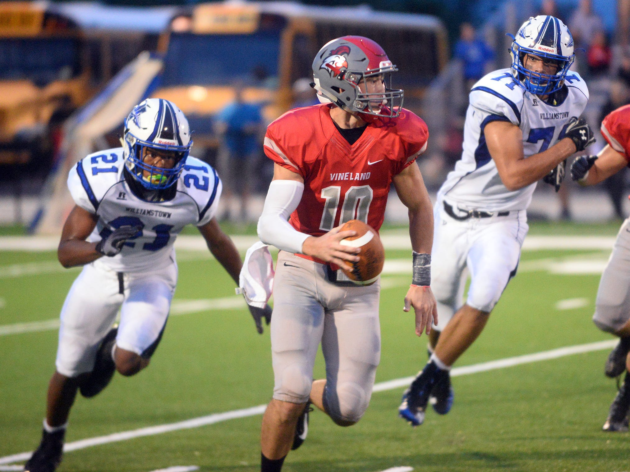 The Vineland High School football team dropped its season opener 24-7 to visiting Williamstown on Friday, August 31. The Fighting Clan's next game is away against Atlantic City.