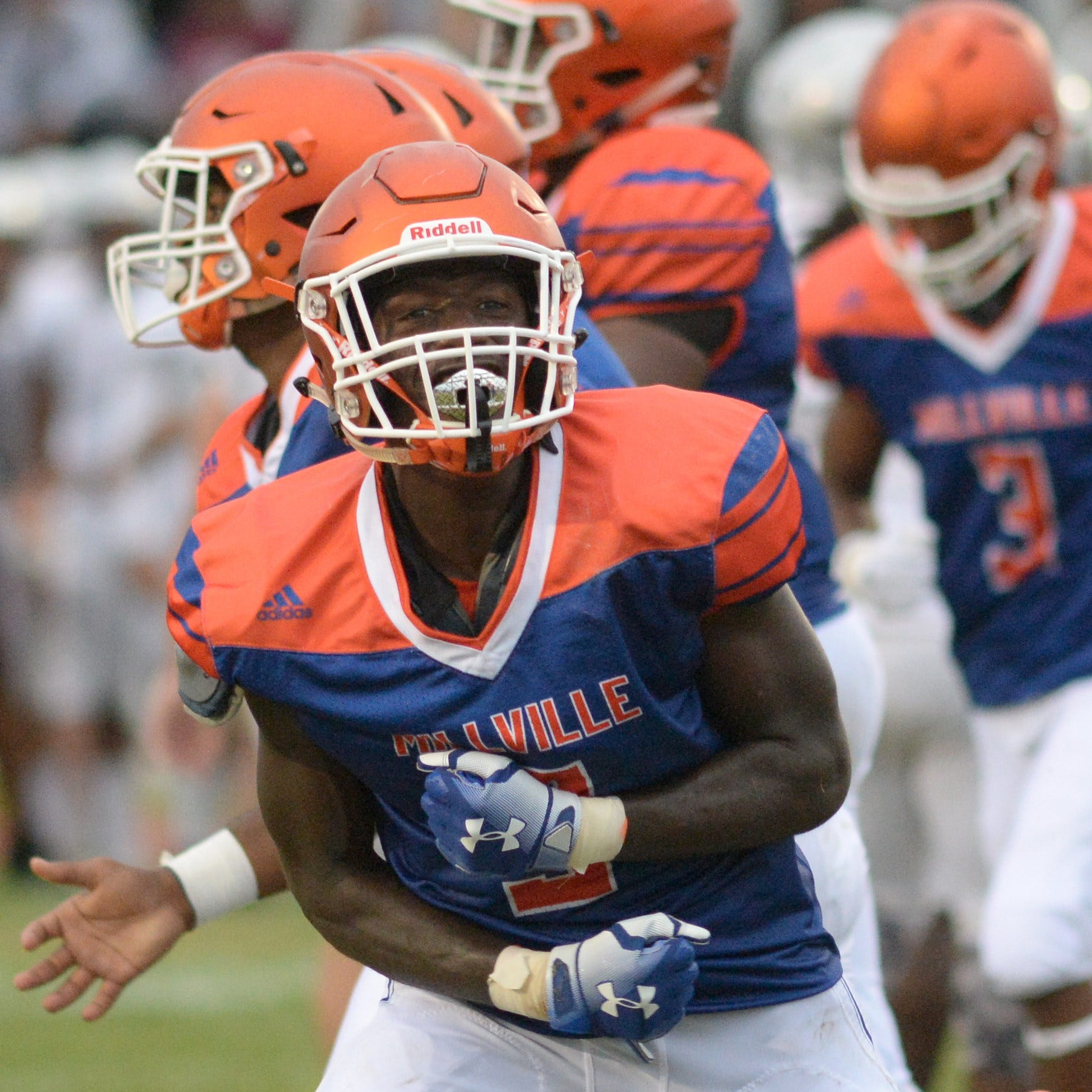 H.S. football: Millville's Yancey produces as a rare three-way player