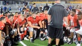 The Vineland High School football team dropped its season opener 24-7 to visiting Williamstown on Friday, August 31.