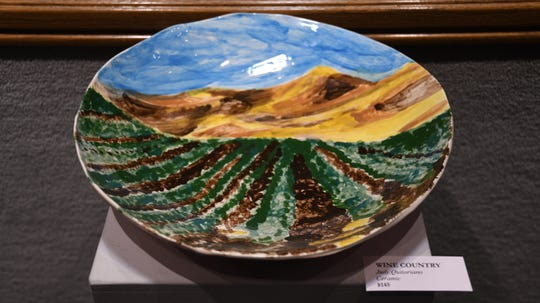 Quitoriano works in a variety of mediums to better convey the diversity of California landscapes