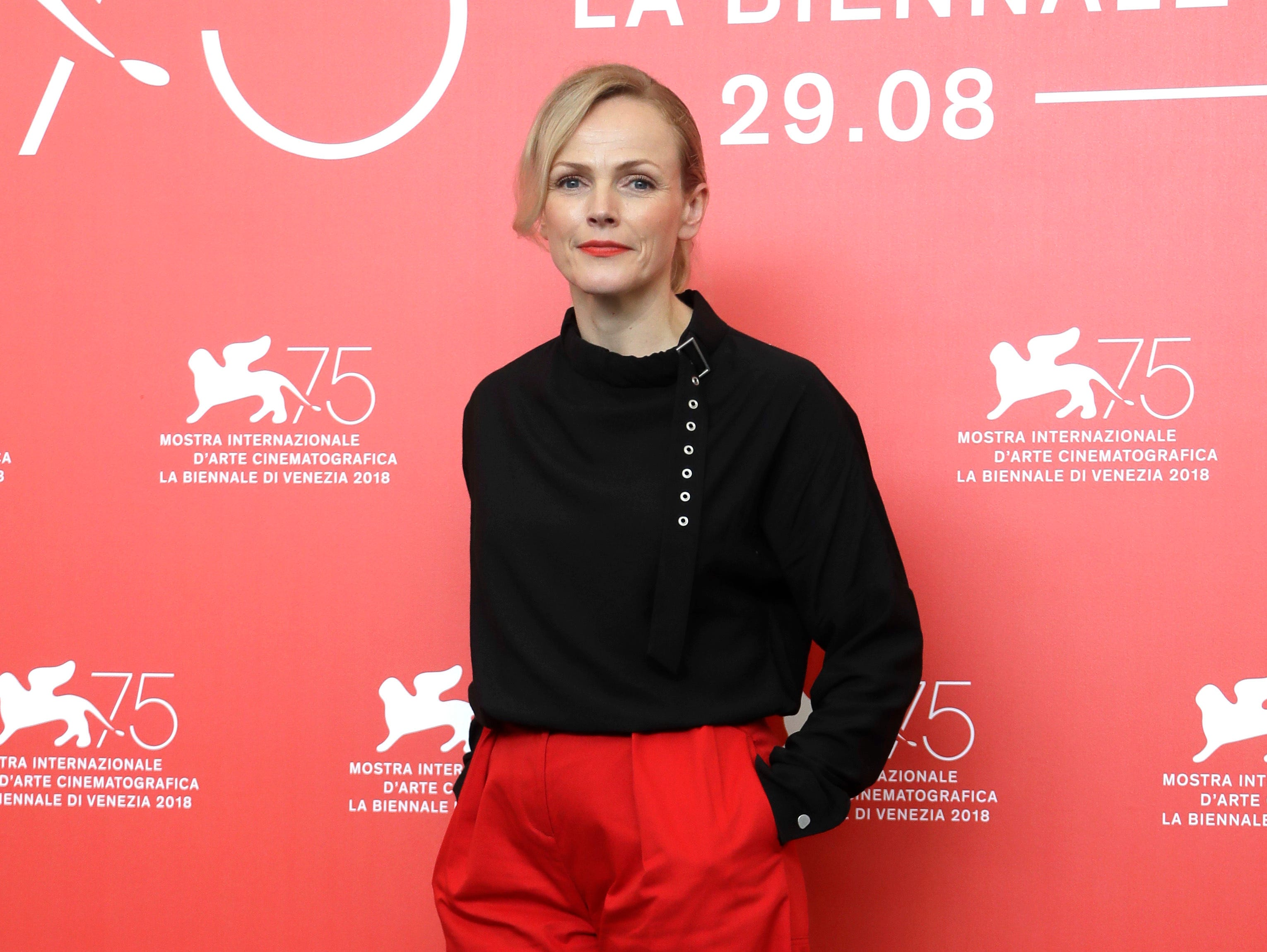"""Actress Maxine Peake posed at the photo call for the film """"Peterloo."""""""