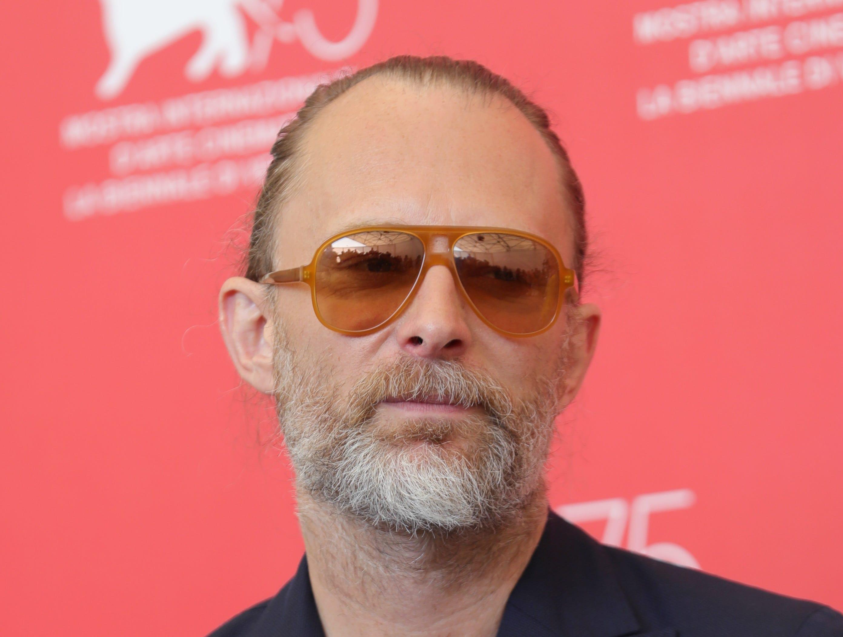 And musician Thom Yorke of Radiohead.