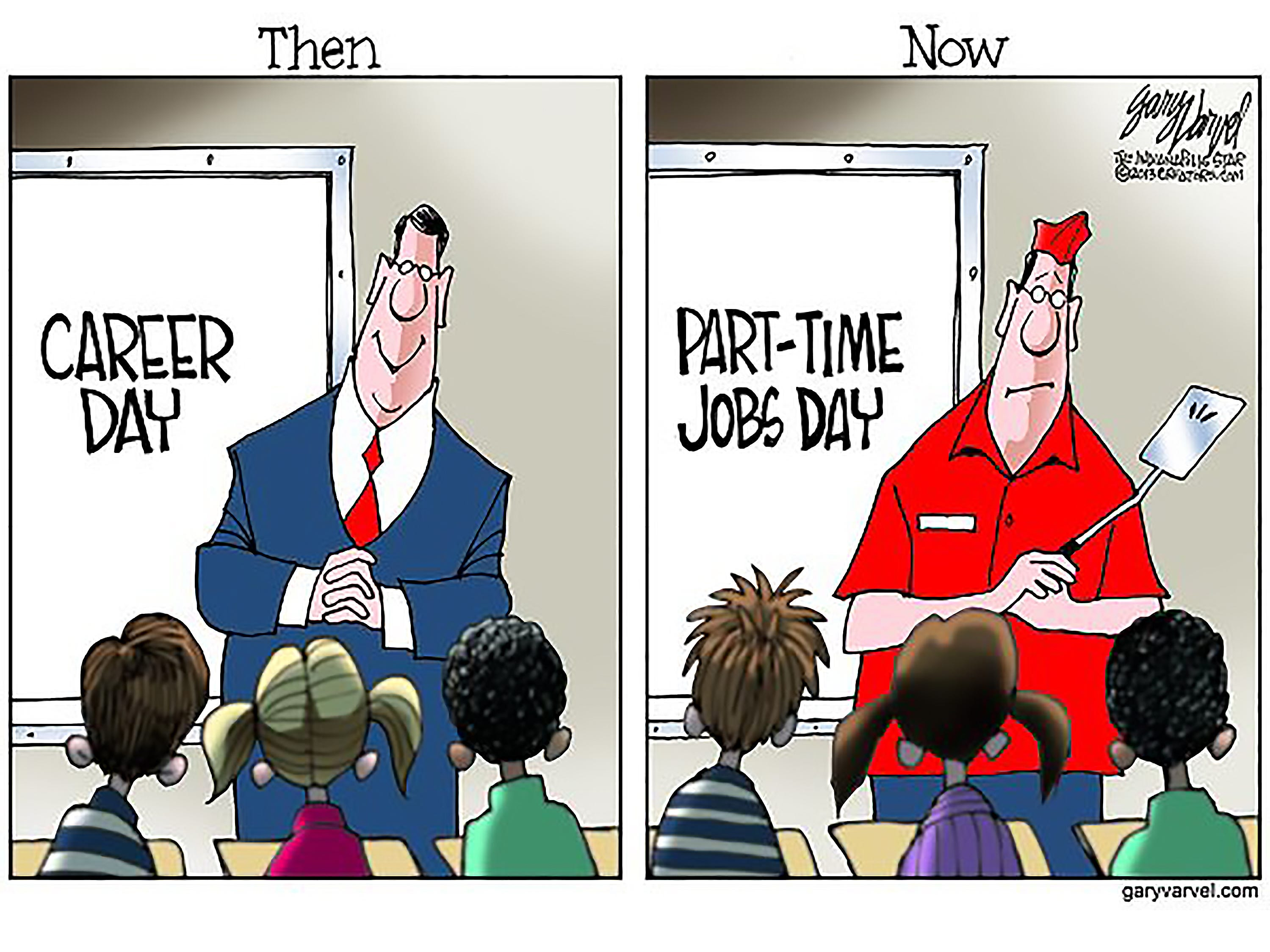 First published for Labor Day 2013. The cartoonist's homepage, indystar.com/opinion/varvel