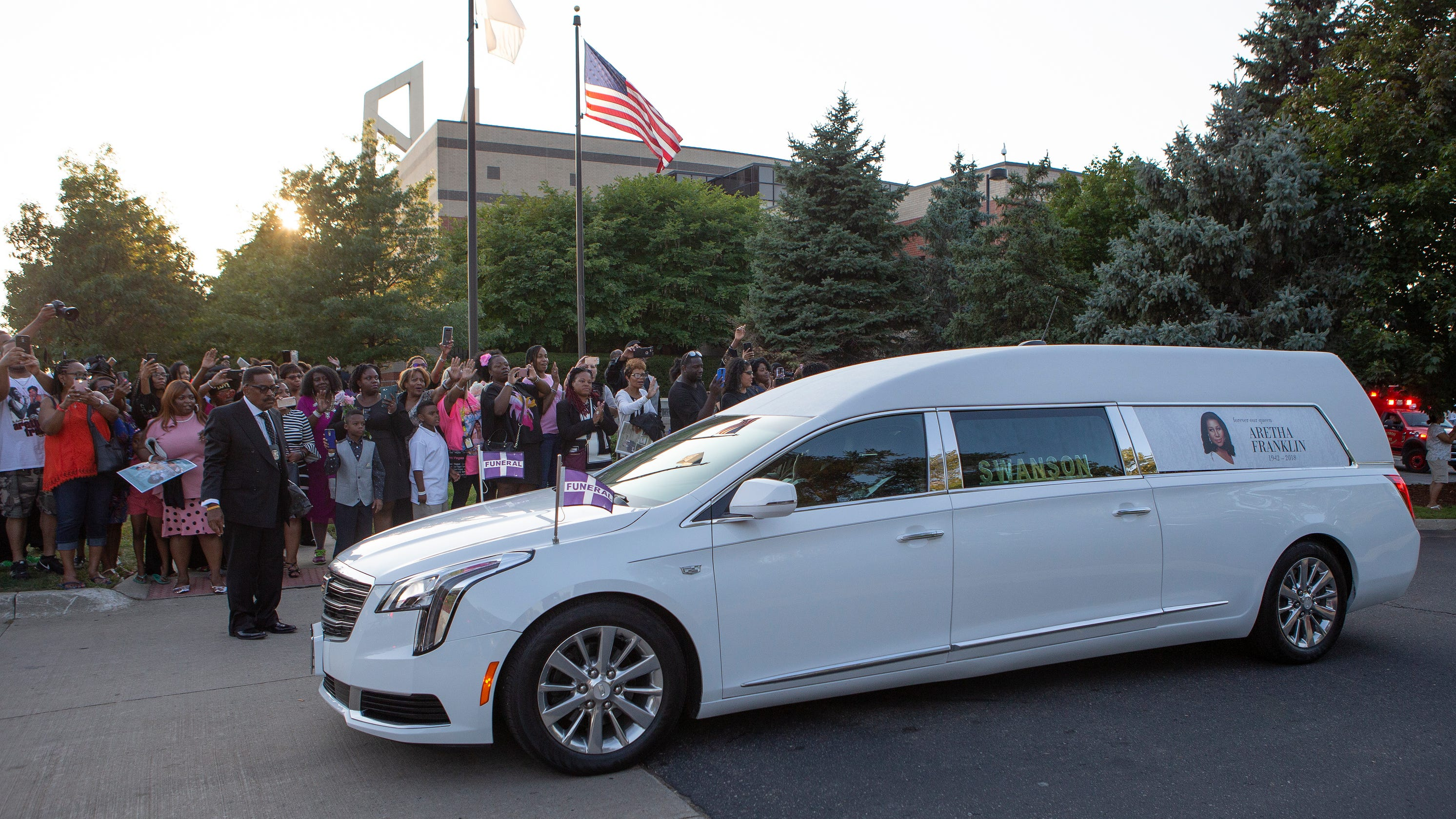 Funeral Home Selling Hearse