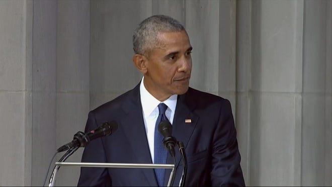 obama eulogy for mccain
