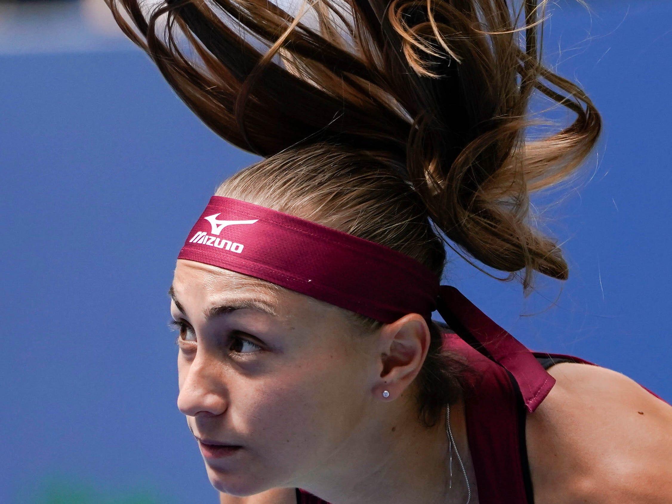 Aleksandra Krunic of Serbia.